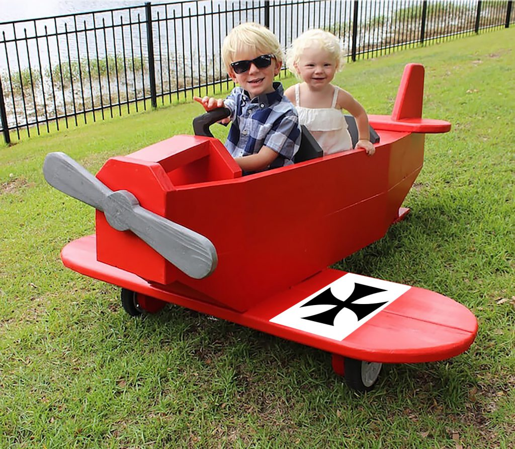 DIY Red Baron Play Plane
