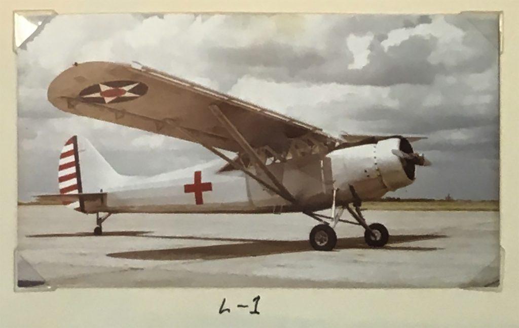 Alamo Liaison Squadron L-1 Restoration 1982