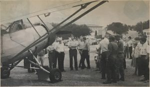 October 12, 1984, edition of Ft. Sam Houston News Leader (A Publication of The 502nd Air Base Wing – Joint Base San Antonio-Fort Sam Houston). L-1 performed in a Confederate Air Force Air Show on Oct. 4th.