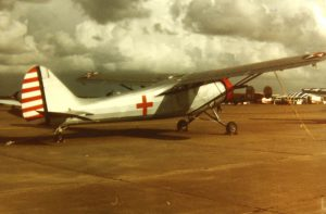 """September 1986, at Wings Over Houston, still """"in the silver war games paint."""""""