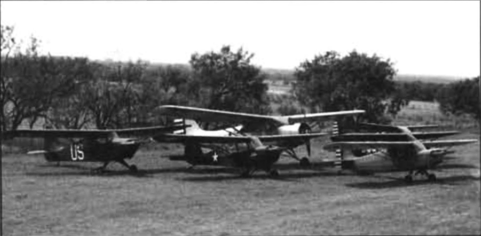 Group picture of the ALG L-1 through L-6 collection. Photo by Roger L. Beery