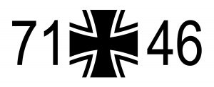 Bundeswehr Kreuz, a cross insignia of the unified armed forces of Germany.
