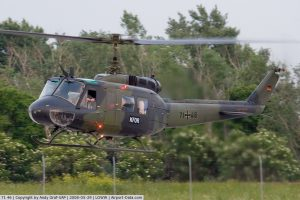 Dornier UH-1 D with Kosovo Force markings (KFOR).