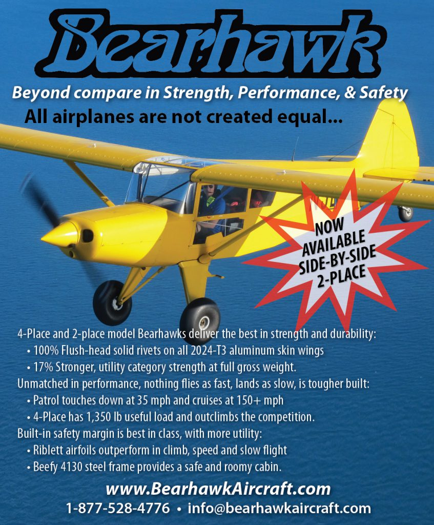 Bearhawk Aircraft - Sport Aviation Magazine