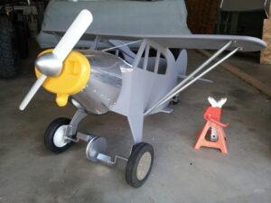 Pedal Plane Piper Cub