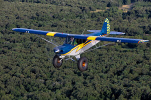 Restored Piper Super Cub. Photos courtesy of Jim Wilson Photography.